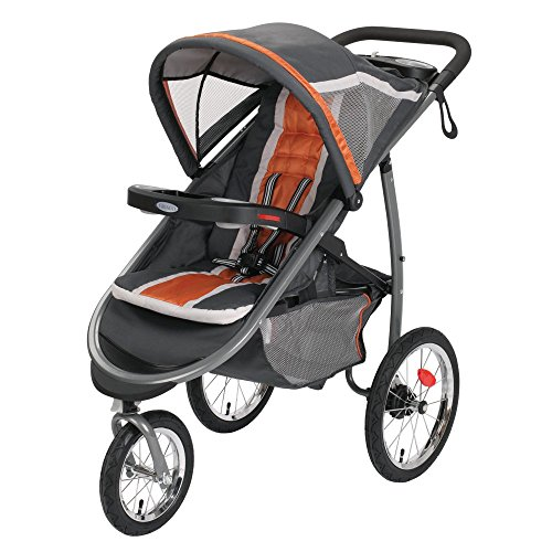 Graco FastAction Fold Jogger Click Connect Stroller, Tangerine (Graco Modes Click Connect 35 compare prices)