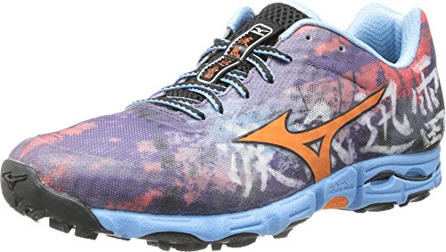 Mizuno Women's Wave Hayate Running Shoe,Purple Plumeria/Ceresia,8 B US