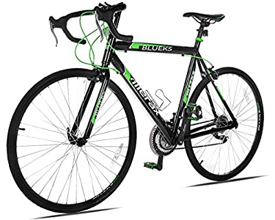 Merax 21 Speed 700C Aluminum Road Bike Racing Bicycle