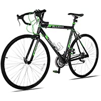 Merax 21 Speed 700C 50cm Aluminum Road Racing Bicycle (Green)
