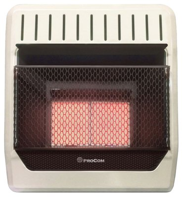 Procom Heating TV209317 10K BTU LP Wall Heater (Wall Heater Btu compare prices)