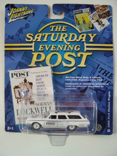 Johnny Lightning The Evening Post 1960 Ford Station Wagon