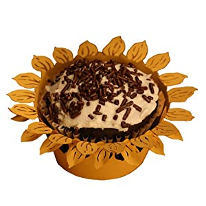 Sunflower Cupcake Liners Lucks Dec Ons Decorations Molded
