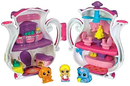 Squinkies Girls Folding Playset Teapot by Squinkies TOY (English Manual)