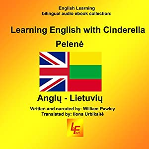 Learning English with Cinderella (English/Lithuanian) Audiobook