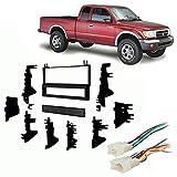 Fits Toyota Tacoma 1995-2004 Single DIN Stereo Harness Radio Install Dash Kit