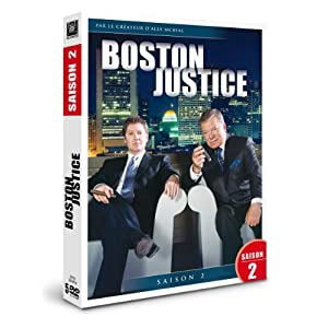 Boston justice, saison 2 - coffret 7 dvd