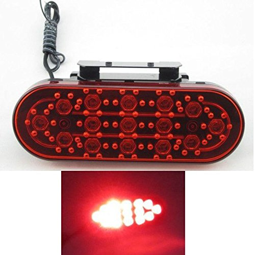 Amjimshop Vovotrade(Tm) Car Accessory Aoto Atv Suv 12V Led Stop Fog Tail Brake Light Lamp Red