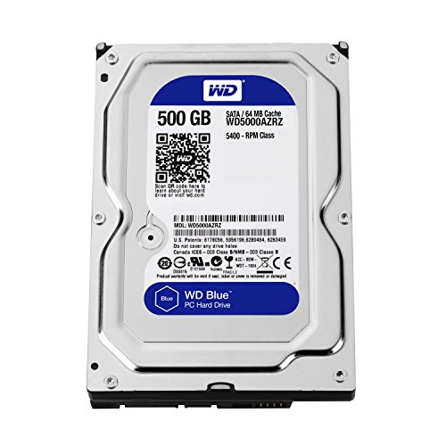 WD Blue 500GB SATA 6Gb/s HDD internal 8,9cm 3,5Zol