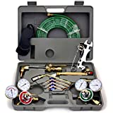 ARKSEN© Harris Type, Gas Welding & Cutting Torch w/ Hose, Professional Set with Case