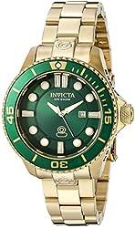 Invicta Women's 19817 Pro Diver Analog Display Swiss Quartz Gold Watch