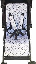Comprar Colchoneta Universal para cochecito Black Star Janabebe®+ Protección de arneses.