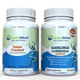 Colon Cleansing Plus Garcinia Cambogia Extract 80% Hca 1400 Mg, Weight Loss Supplement Pack , Includes 60 Capsule Colon Detox Formula and 60 Vegan Capsules, Diet Pills, FDA Registered Made in the USA