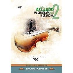 Salvatore Accardo - Masterclass in Cremona, Vol. 2