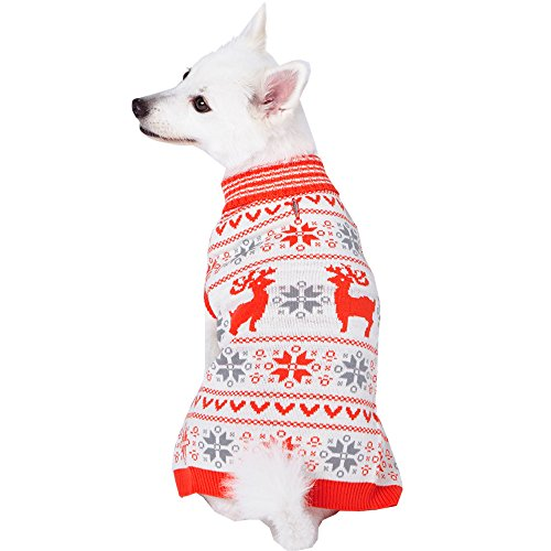 Ugly Christmas Reindeer Holiday Festive Dog Sweater