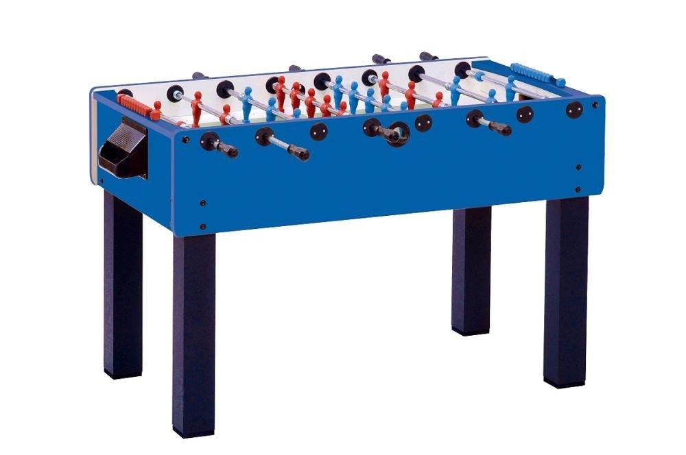"""Tischfußball Master-Cup """"Teleskop"""" Shorty (138 x 74 x 73 cm, schwarz / blau) jetzt kaufen"""