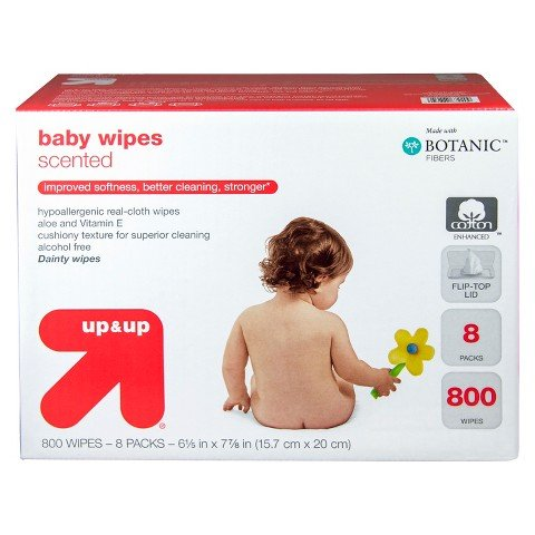 Up and Up Scented Baby Wipes Refill Pack - 800 Count Health Care Toilet - 1