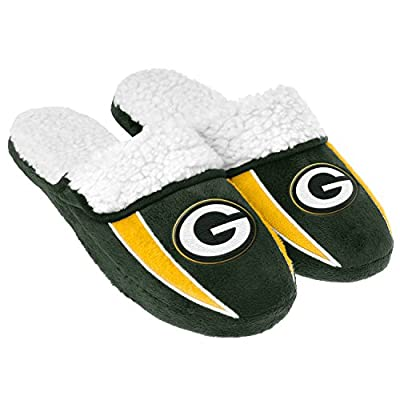 2013 NFL Football Mens Team Logo Sherpa Slippers