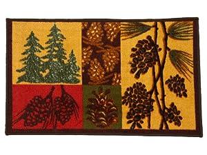 Avanti Linens Adirondack Pine Rug, Multi