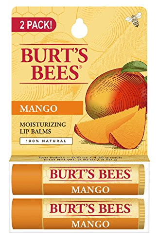 burts-bees-100-natural-lip-balm-mango-blister-pack-03-ounce-2-count-by-burts-bees
