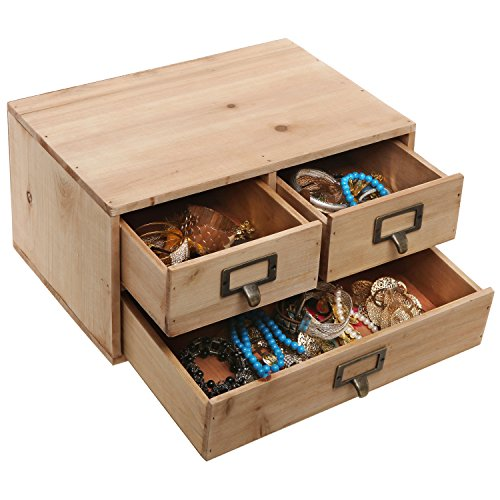 Small Wood Storage Drawers ~ Drawers small rustic natural wood storage cabinet