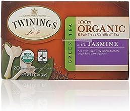 Twinings Green with Jasmine Organic 20 Count