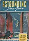 img - for Astounding Science-Fiction 1943 Vol. 32 # 01 September: Judgment Night (pt 2, conc) / Attitude / Doodad / Robinc / Concealment book / textbook / text book