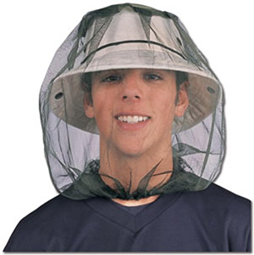 Flammi Mosquito Head Net Outdoor Protection with Insect Shield