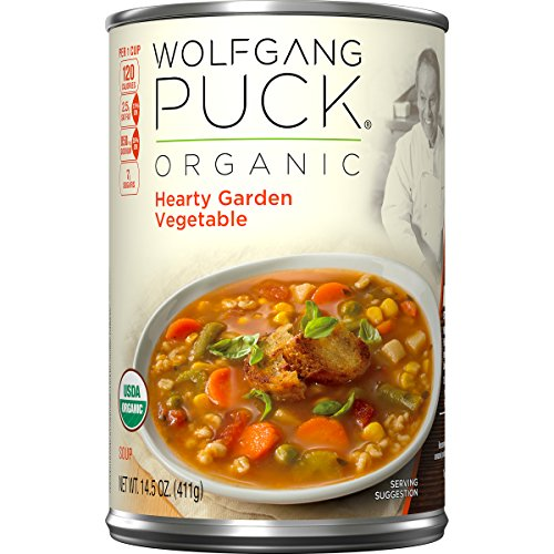 Wolfgang Puck Organic Hearty Garden Vegetable Soup, 14.5 Ounce (Pack of 12) (Wolfgang Puck Soaps compare prices)