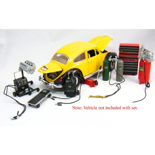Die-cast-Metal-Car-Garage-Accessories-118-Scale