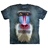 The Mountain Big Faceandrill Baboon T-Shirt