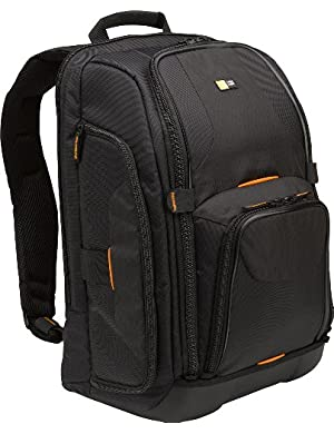 Caselogic SLRC-206 SLR Camera and 15.4-Inch Laptop Backpack (Black)