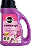 Miracle-Gro 1kg Flower Magic Flower Seeds with Feed and Coir Mix Jug (Pink/ White)