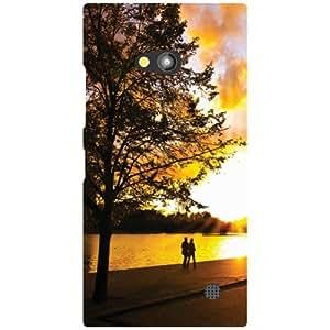 Nokia Lumia 730 Back Cover - Romantic Walk Designer Cases