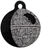 Platinum Pets Star Wars 1-Inch Smartphone Pet ID Tag with GPS, Death Star Design