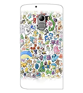 PrintDhaba Cartoon D-3827 Back Case Cover for LENOVO VIBE X3 c78 (Multi-Coloured)