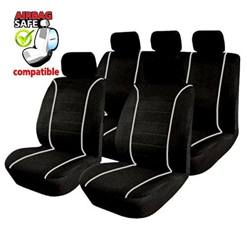 sb301 housse de si ge set auto protecteur de si ge couvre si ge voiture avec airbag lat ra. Black Bedroom Furniture Sets. Home Design Ideas