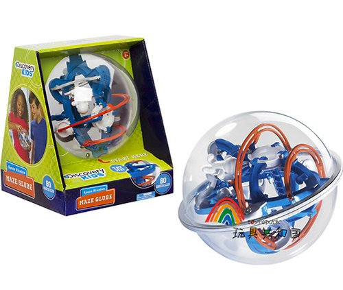 Discovery Kids Space Mission Maze Globe front-321292