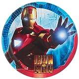 Iron Man '2' Large Paper Plates (8ct)