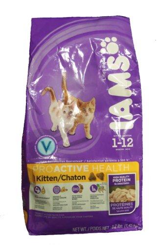 Iams Proactive Health Kitten Food (1-12 Mo'S): 3.2 Lb Bag