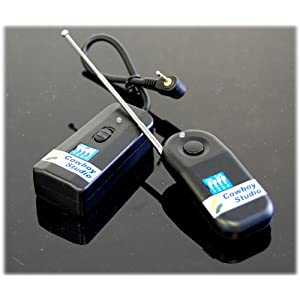 CowboyStudio Wireless Radio Remote Release for Canon EOS Digital Rebel XT, XTi, XS, XSi, T1i, &#038; G10 Digital SLR Cameras