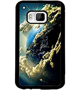 ColourCraft The Galaxy Design Back Case Cover for HTC ONE M9