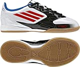 ADIDAS F10 IN J lightning white/black/core energy, GröÃe Adidas:33