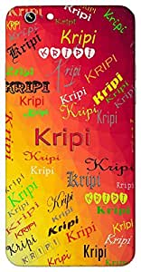Kripi (Beautiful) Name & Sign Printed All over customize & Personalized!! Protective back cover for your Smart Phone : Apple iPhone 4/4S