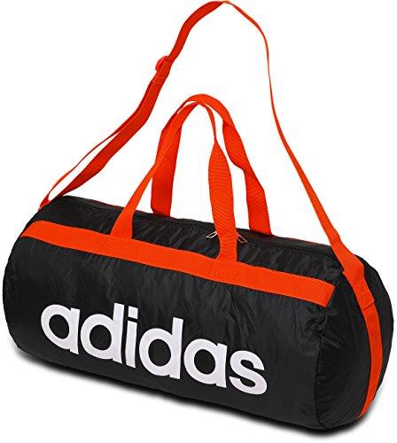 adidas アディダス ポケッタブル バッグ ITW10 (S03207-ブラック/ホワイト)
