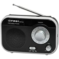 Retro Radio AM / FM tragbar 1Watt Nostalgie Radio K�chenradio Schwarz Werkstatt