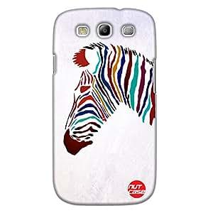 Zebra - Nutcase Designer Sasmsung Galaxy S3 Case Cover