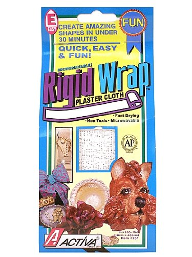 Activa Products Rigid Wrap Plaster Cloth 8 in. x 180 in.
