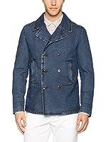 Trussardi Jeans Cazadora Vaquera (Azul)