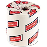Boardwalk 6180 Bath Tissue, Two-Ply, White, 500 Sheets per Roll